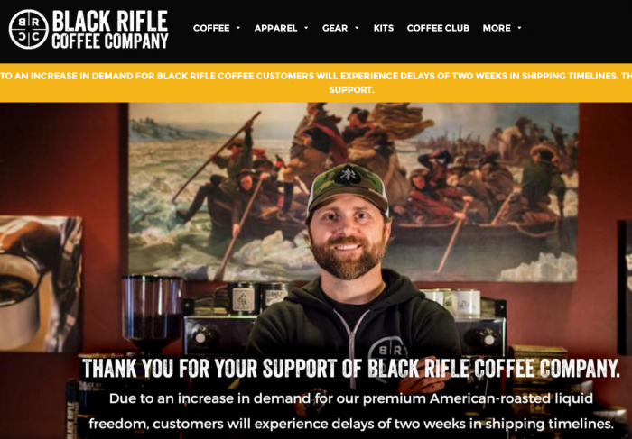 Black Rifle Coffee Wants to Hire More Vets